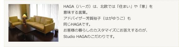 Studio HAGAについて